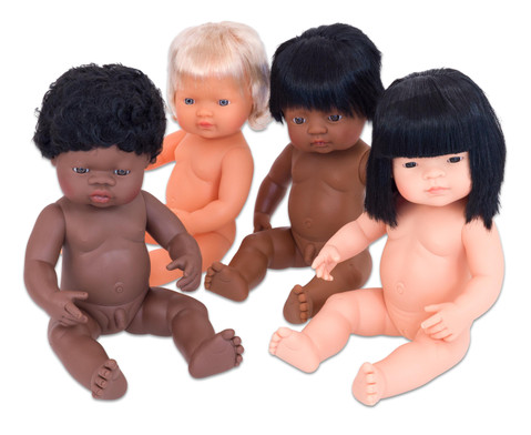 Baby-Puppen-Set 4tlg