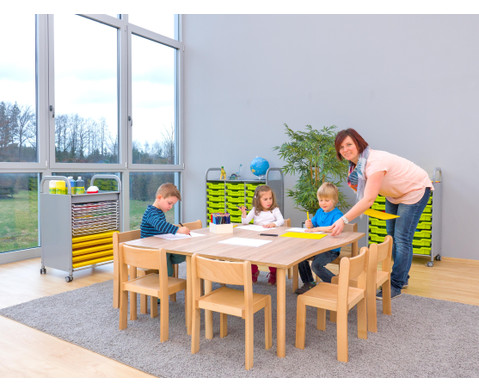 Tischset Trentino 2x Rechtecktisch Hoehe 46 cm Sitzhoehe 26 cm-11