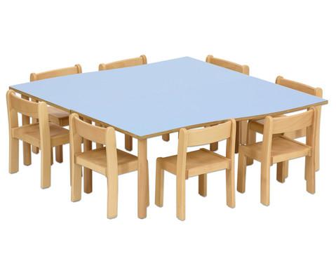 Tischset Trentino 2x Rechtecktisch Hoehe 46 cm Sitzhoehe 26 cm-8