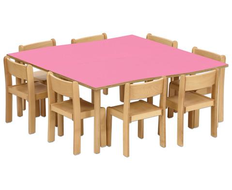 Tischset Trentino 2x Rechtecktisch Hoehe 46 cm Sitzhoehe 26 cm-7