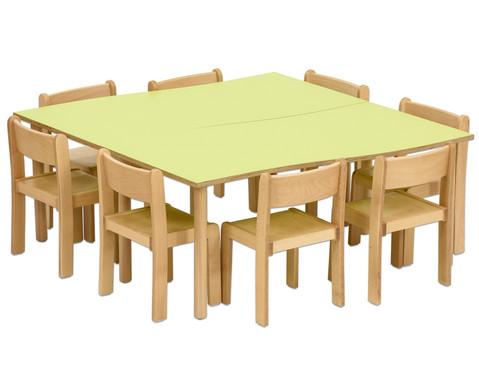 Tischset Trentino 2x Rechtecktisch Hoehe 52cm Sitzhoehe 30cm-9