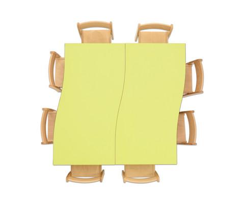 Tischset Trentino 2x Rechtecktisch Hoehe 52cm Sitzhoehe 30cm-10