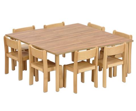 Tischset Trentino 2x Rechtecktisch Hoehe 52cm Sitzhoehe 30cm-2