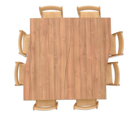 Tischset Trentino 2x Rechtecktisch Hoehe 52cm Sitzhoehe 30cm-3