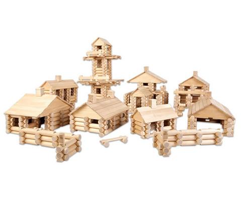Holzbaukasten 333-teilig