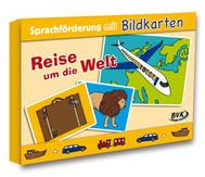 """Sprachförderung mit Bildkarten """"Reise um die Welt"""""""