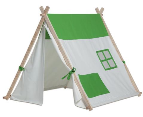Dreiecks-Zelt gruen