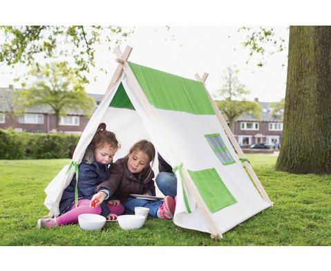 Dreiecks-Zelt gruen-2
