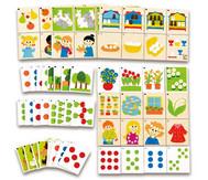 Zahlenmix-Spiel 36-tlg.