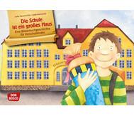Bildkarten: Die Schule ist ein großes Haus