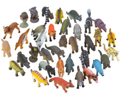 WIlde Tiere Kunststoff 36 Stueck-1