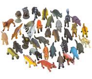 Wilde Tiere, Kunststoff, 36 Stück