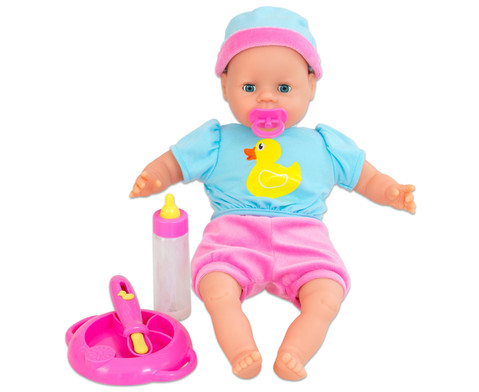 Babypuppe Laura mit Zubehoer-1