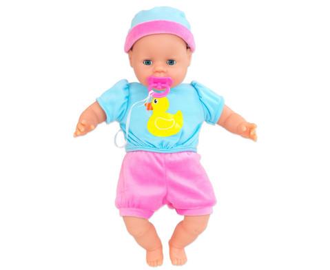 Babypuppe Laura mit Zubehoer-2