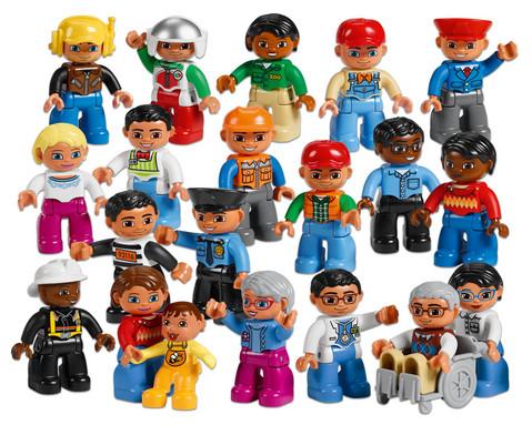 LEGO DUPLO Set Menschen aus der Nachbarschaft-1