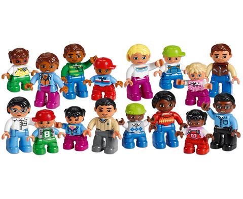 LEGO DUPLO Set Menschen aus aller Welt-1