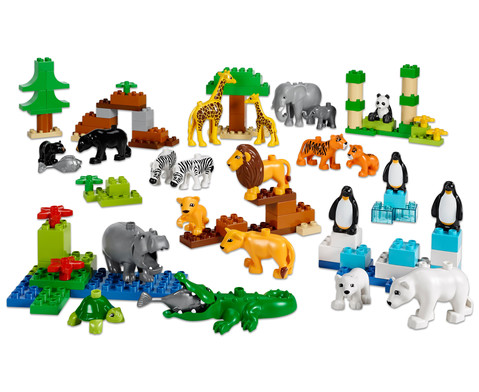 LEGO DUPLO Wilde Tiere Set-1