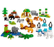 LEGO® DUPLO® Wilde Tiere Set