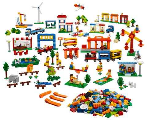 LEGO Stadt  Gemeinde 1907 teilig-2