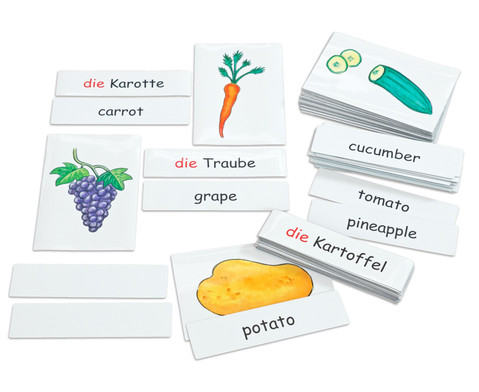 Flash Cards - Obst-Gemuese-2