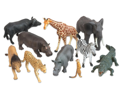 Afrikanische Tiere 10-tlg Set