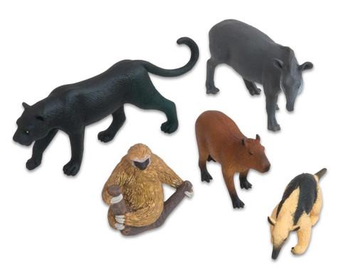 Suedamerikanische Tiere Set 5-tlg