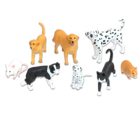 Haustiere 8-tlg Set