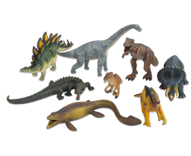 Betzold Dinosaurier-Tiere, 8-tlg. Set