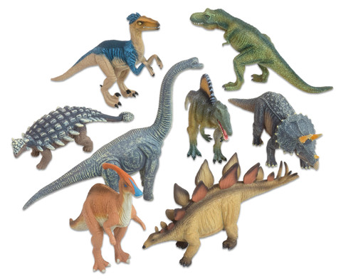 Dinosaurier Deluxe Tiere 8-tlg Set