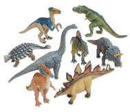 Dinosaurier Deluxe Tiere, 8-tlg. Set