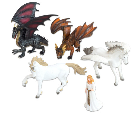 Fantasie Tiere 5-tlg Set