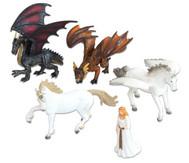 Fantasie-Tiere Set, 5-tlg