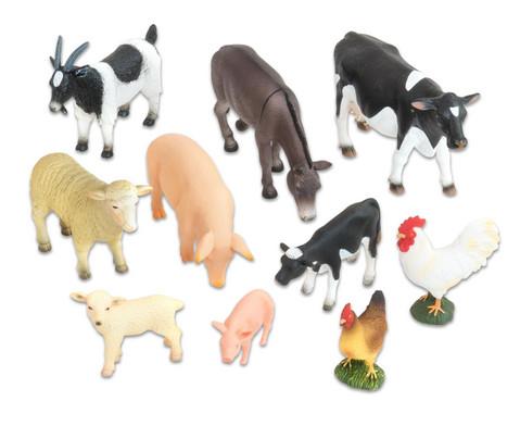 Bauernhof-Tiere Set 10-tlg