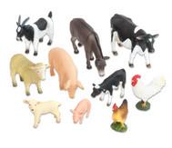 Bauernhof-Tiere Set, 10-tlg