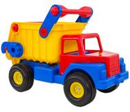 Truck mit Gummireifen