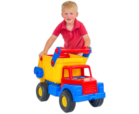 Truck mit Gummireifen-3