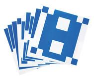 Vorlage-Karten für Übungswürfel, 10 Stück