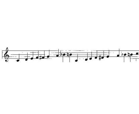 Einzelner Sopran-Klangbaustein mit Schlaegel-3