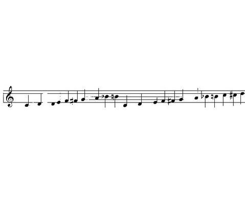 Einzelner Sopran-Klangbaustein mit Schlaegel-6