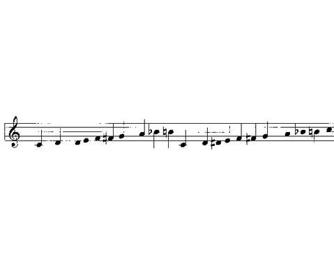Einzelner Sopran-Klangbaustein mit Schlaegel-7