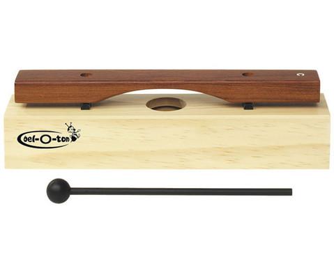 Einzelner Sopran-Klangbaustein mit Schlaegel-1