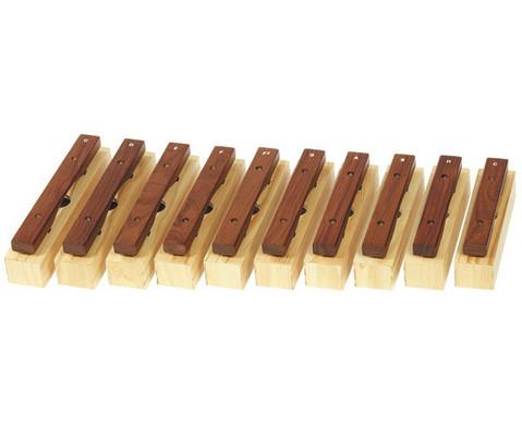 Einzelner Alt-Klangbaustein mit Schlaegel-3