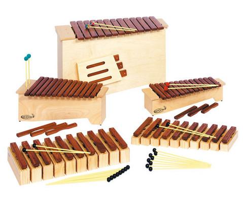 Satz mit 10 Sopran-Klangbausteinen und 10 Schlaegeln-2