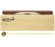 Einzelner Bass-Klangbaustein, mit Schlägel
