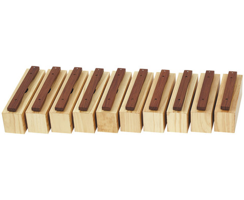 Satz mit 10 Bausteinen und 10 Schlaegeln-1