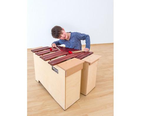 Betzold Musik chromatisches Bass-Xylophon-8