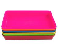 Materialschalen, klein 5 Stück in einer Farbe