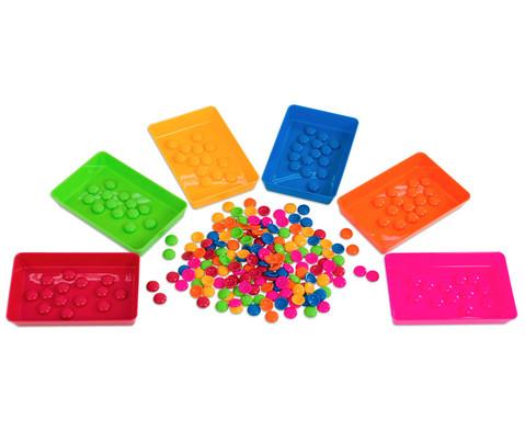 Materialschalen klein 5 Stueck in einer Farbe-2