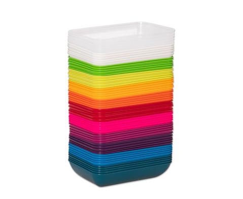 Materialschalen klein 5 Stueck in einer Farbe-3