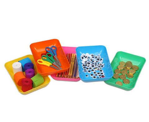 Materialschalen gross 5 Stueck in einer Farbe-2